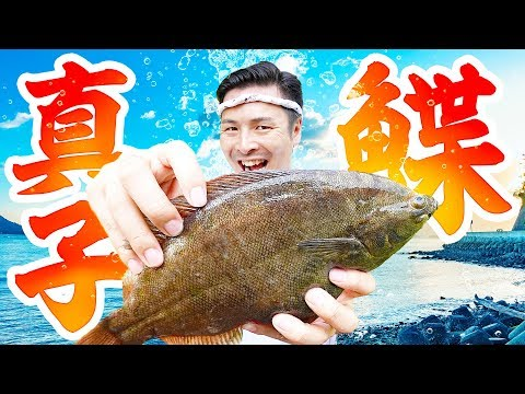 【夏の魚】マコガレイを捌いて激うまお刺身!【男の出刃包丁】