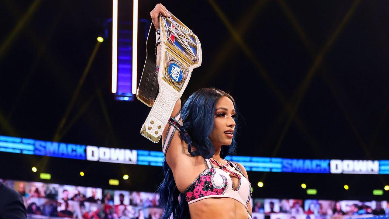 Trailblazer Sasha Banks lands in spot No. 6: WWE 50 Greatest Women Superstars sneak peek