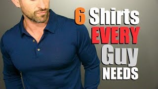6 Long Sleeve Shirts EVERY Guy NEEDS In His Wardrobe! (Men
