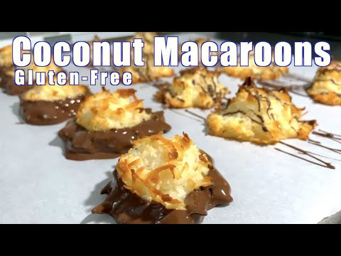 How to Make Coconut Macaroons Gluten Free for Valentine's Day (2020) RockinRaffi Ep. 71