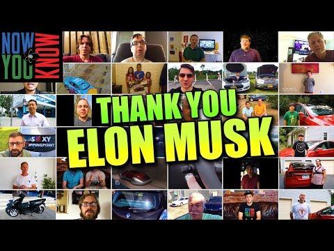 Thank You, Elon Musk