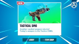 NEW Tactical SMG UNVAULTED! // 2300+ Wins // Use Code: byArteer (Fortnite Battle Royale LIVE)