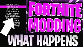 WHAT HAPPENS IF YOU MOD FORTNITE?! (Fortnite Battle Royale Mods)::