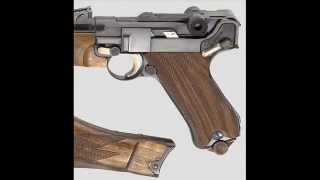 Luger P08 WERMATHC parabellum 9.21 para