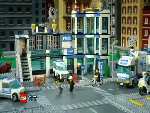 Lego City 7498 Police Station 2011 Youtube