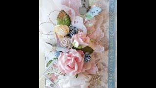 Shabby Chic Botanical Tea Card Tutorial