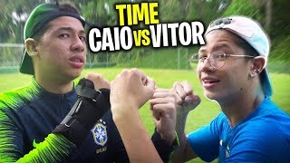 TIME VITOR VS TIME CAIO - JOGO REAL DE YOUTUBERS!