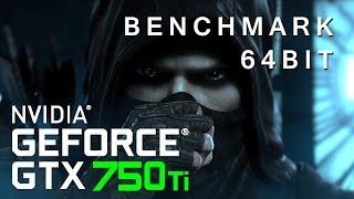 Thief 64BIT Benchmark - GTX 750 Ti Max Settings at 720p [HD]