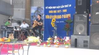 Ngây thơ (Ngọc Châu) - Guitar cover by Trần Anh Tuấn PCCC - Live in Hải Dương city 30-4-2013