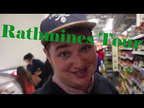 Study Abroad Ireland: Shopping at the Rathmines