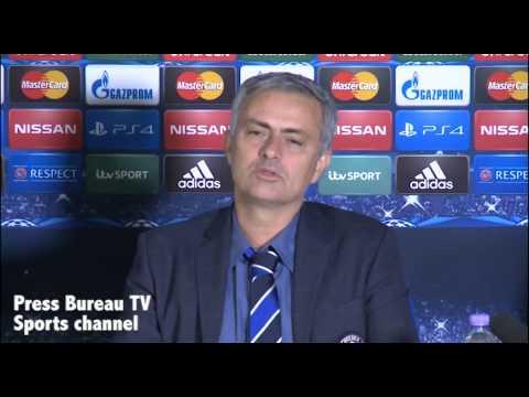 Jose Mourinho reaction Chelsea vs NK Maribor