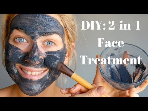 DIY Face Cleansing Powder & Face Mask Recipe for Clogged Pores, Whiteheads & Blackheads