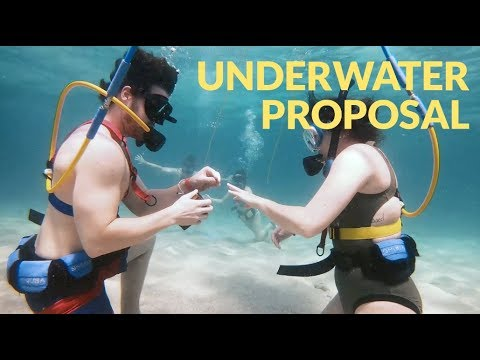 Otis - Georgia Couple Gets Engaged 30Ft. Underwater in Dominican Republic