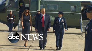 Trump launches political attacks in El Paso, Dayton visits l ABCNews