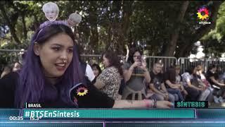 ARGENTINOS EN BRASIL - BTS En Sintesis Canal 13