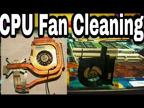 How to clean laptop CPU fan STEP BY STEP Apply thermal paste Fix overheating Sony Vaio CS series VGN