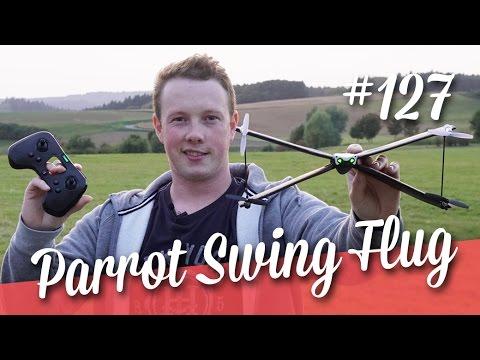 Parrot Swing Minidrone + erster Flug ( Teil 2/2 )  // deutsch // in 4K // #127