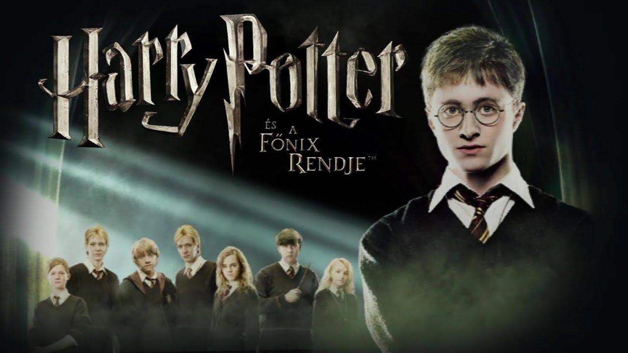 Harry Potter Es A Fonix Rendje Vegigjatszas 5 Resz Youtube