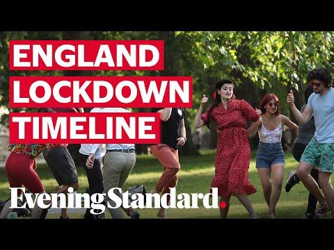 Coronavirus Uk A Timeline Of Lockdown Measures Being Lifted In England Youtube
