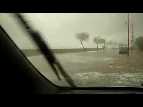 Mareggiata Santa Teresa di Riva 13 gennaio 2009 (3) Sea Storm Sicily