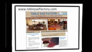 Table Pads Custom Table Pads Protective Table Pads