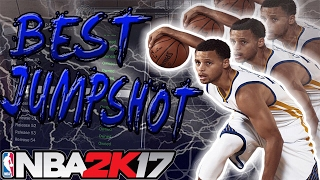 NBA 2K17 • BEST CUSTOM JUMPSHOT ON 2K! BEST ONE HANDED JUMPSHOT FORM FOR ALL POSITIONS!!
