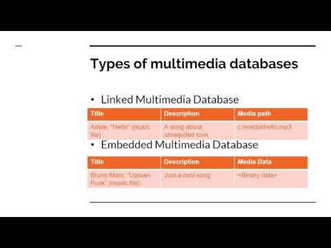 IST659 Multimedia databases