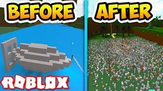 NUKE!! | EPIC BOAT | Roblox Build A Boat For Treasure