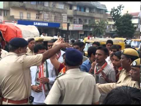 Sandesh News - Impact Of 'Gujarat Bandh' Called Up By The Congress Today