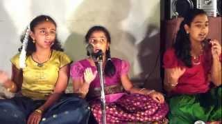 Shobillu Sapta Swara (Tyagaraja kriti)