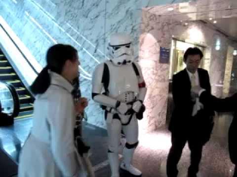 TokyoTrooper causing a scene at Softbank HQ