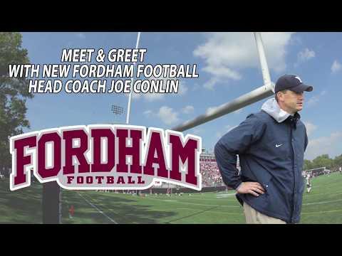 New Head Football Coach Joe Conlin's Meet and Greet