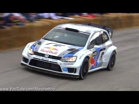 Volkswagen Polo R WRC Sound! - 11° Rally Legend 2013