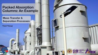 IEK213 Packed Absorption Column Problem Example