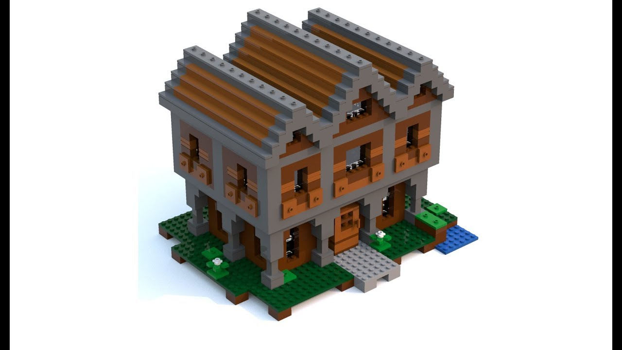 Lego Minecraft Wooden House Moc