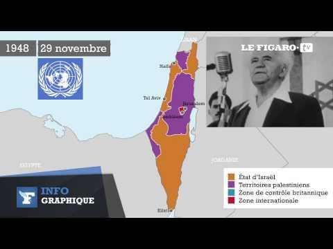 Israël-Palestine : comprendre le conflit par les cartes