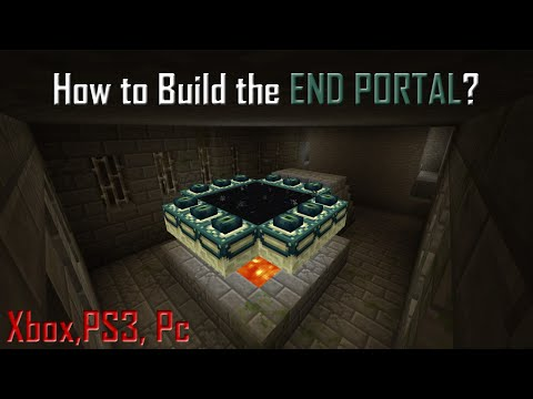 MineCraft Tutorials: How to Build The Ender Portal + Kill Ender Dragon