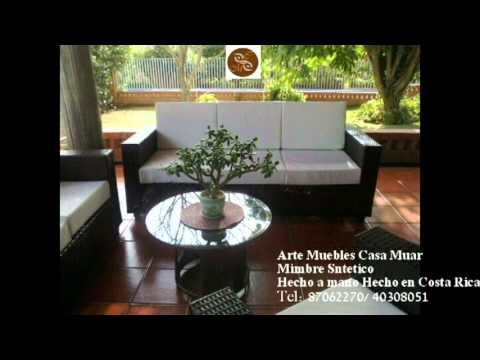 Muebles de mimbre sintetico youtube for Muebles de mimbre en valencia