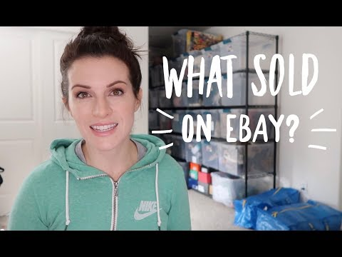 What Sold On EBay? Over $500 In Sales! Common Brands I Resell For A Great Profit