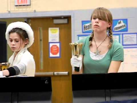 """Little Drummer Boy"" (Wagner) by Lincoln Middle School Handbells"