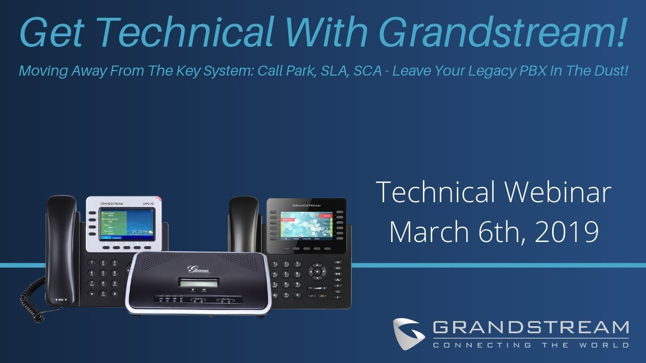 Live Demo: How to Enable Grandstream's Shared Call