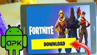 ON PEUT ENFIN TELECHARGER FORTNITE MOBILE ANDROID !!! APK
