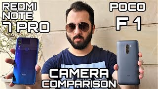 Redmi Note 7 Pro vs Poco F1 Camera Comparison|Redmi Note 7 Pro Camera Review