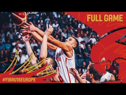 Montenegro v Serbia - Full Game - Semi-Final - FIBA U16 European Championship 2017