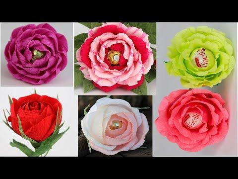 Розы из конфет своими руками пошаговое фото для начинающих розы