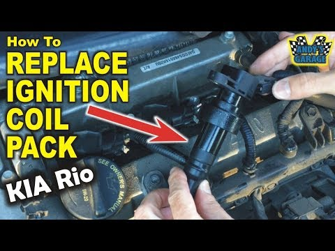 How To Replace Ignition Coil Pack – KIA Rio (Andy's Garage: Episode – 127)