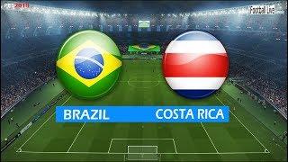 Download Video PES 2018 | BRAZIL vs COSTA RICA | Full Match & Amazing Goals | Gameplay PC | Brasil x Costa Rica MP3 3GP MP4