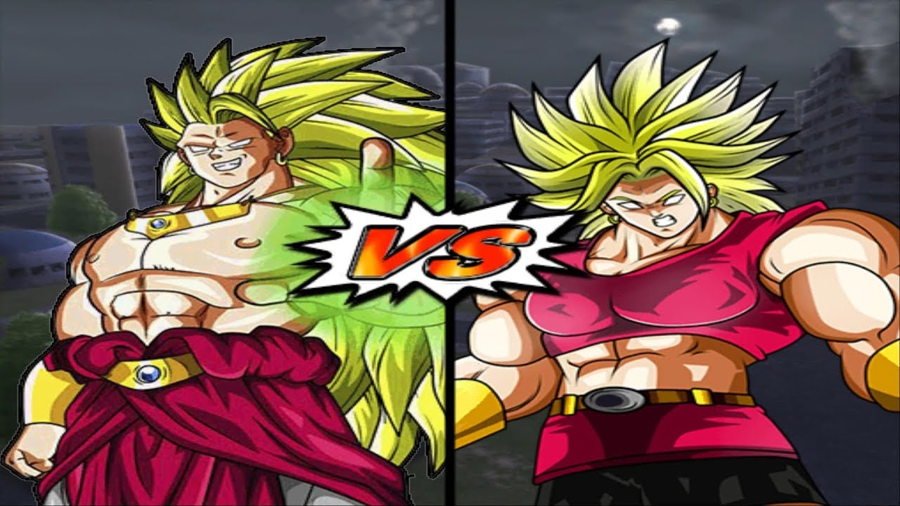 Cuộc Đối Đầu Của Siêu Saiyan Huyền Thoại Broly VS Kale - Dragon Ball Super  Song Đấu