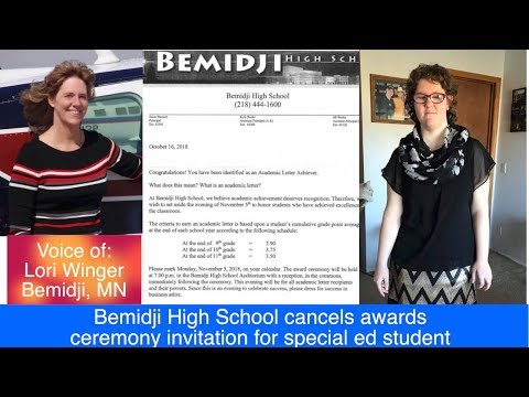UPDATE: Bemidji Mom Discusses Cancellation Of Award For Daughter In Special Ed