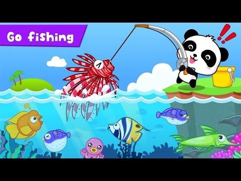 Ajude Nosso Amiguinho A Pescar Peixes Video Educativo Para
